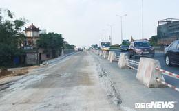 Ảnh: Dự án cao tốc 6 làn xe Pháp Vân - Cầu Giẽ thi công chậm như 'rùa bò'
