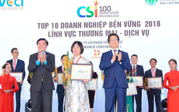 Digiworld đứng top 10 doanh nghiệp phát triển bền vững Việt Nam