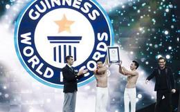 Anh em Quốc Cơ - Quốc Nghiệp xác lập kỉ lục Guinness Thế giới tại Ý với thành tích ấn tượng