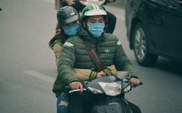 Ảnh: Người dân Hà Nội trùm áo ấm, co ro ra đường trong đợt rét mạnh nhất từ đầu mùa
