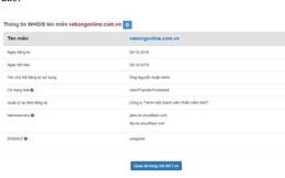 VFF lên tiếng về việc trang web bán vé bóng đá online giả