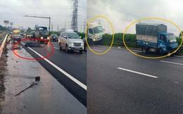 Truy tìm ô tô làm rơi cuộn sắt gây tai nạn liên hoàn trên cao tốc Pháp Vân - Cầu Giẽ
