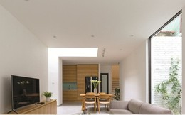 Nhà trong ngõ hẹp vẫn chan hòa ánh sáng