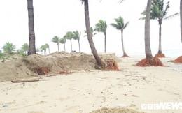 300m bờ biển hấp dẫn nhất hành tinh bị sóng 'nuốt chửng'