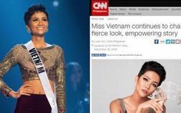 Hàng loạt báo quốc tế hết lời khen ngợi H'Hen Niê sau thành tích tại Miss Universe 2018
