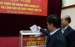 Lấy phiếu tín nhiệm Bộ trưởng, các Thứ trưởng Bộ GTVT