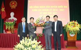 Huyện Quốc Oai có chủ tịch mới