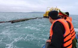 Ống dẫn dầu thô 40 tỷ đồng 'mất tích' ngoài biển