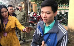 Tới tòa, bác bĩ Hoàng Công Lương nói sức khỏe mình bình thường