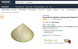 """Từ chuyện """"Hộp Cao sao vàng 2.000 đồng bán trên Amazon 7 USD, chiếc nón lá rao bán giá gấp 10 lần"""", DN Việt sẽ hưởng lợi lớn khi Amazon chính thức vào Việt Nam?"""