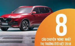 8 câu chuyện 'nóng' nhất thị trường ôtô Việt 2018