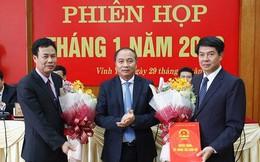Vĩnh Phúc, Tuyên Quang bổ nhiệm chức danh Giám đốc Sở