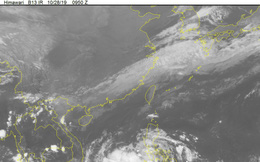 Vùng áp thấp trên biển mạnh lên thành áp thấp nhiệt đới