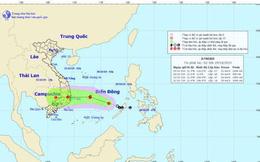 Áp thấp nhiệt đới đã mạnh lên có khả năng thành bão