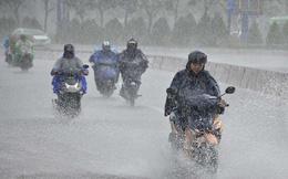Hôm nay mưa lớn xuất hiện ở Bắc Bộ và Bắc Trung Bộ