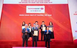 Techcombank đứng đầu bảng xếp hạng ngân hàng về hiệu quả hoạt động