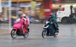 Không khí lạnh tăng cường gây mưa ở Trung Bộ