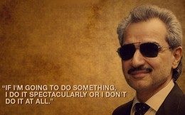 [Quy tắc đầu tư vàng] Al-Waleed Bin Talal – Hoàng tử tỷ phú chia sẻ công thức làm giàu từ đầu tư cổ phiếu