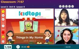 Topica đầu tư thêm 3,5 triệu USD phát triển nền tảng học tiếng Anh trực tuyến Kidtopi