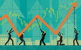 """Nhóm ngân hàng """"dậy sóng"""", VN-Index bứt phá hơn 6 điểm trong phiên 12/12"""