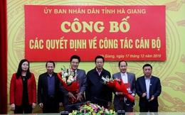 Hà Giang bổ nhiệm Giám đốc, Phó Giám đốc Sở