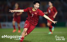 """Tuyết Dung - cô gái """"vàng"""" ôm giấc mơ World Cup của tuyển nữ Việt Nam: """"Đã lên sân là chiến đấu quên mình rồi!"""""""