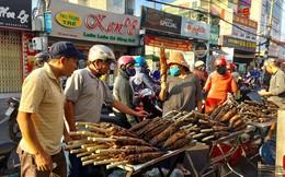 TPHCM: Đổ xô mua cá lóc nướng ngày vía Thần Tài