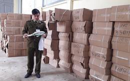 Tạm giữ lô hàng lớn không có nhãn phụ tiếng Việt