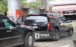 """[Nóng] Siêu xe """"Quái thú"""" của Tổng thống Trump đã tới Hà Nội"""