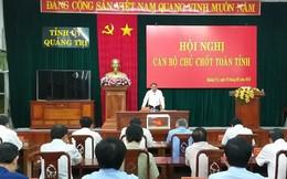 Quảng Trị bổ nhiệm Phó Bí thư Thường trực Tỉnh ủy