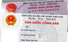 Bộ Công an hợp nhất quy định về thẻ Căn cước công dân
