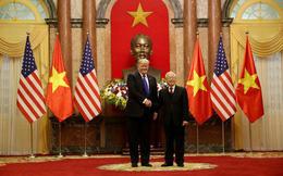 [NÓNG] Tổng thống Trump đã tới Phủ Chủ tịch để tham gia hội đàm cùng Tổng Bí thư, Chủ tịch nước Nguyễn Phú Trọng