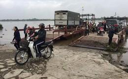 Phà nối Ninh Bình - Nam Định đột ngột bị dừng khó hiểu dịp Tết
