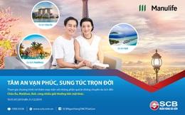 """Cơ hội du lịch Châu Âu với chương trình """"Tâm an vạn phúc – Sung túc trọn đời"""" của SCB"""