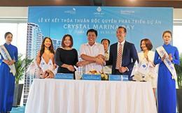 Crystal Bay ký kết hợp tác phát triển dự án Crystal Marina Bay với KW Phúc An và Hoàng Mai Media