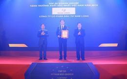 Tăng trưởng 43%, Nam Long nhận giải Top 50 DN tăng trưởng xuất sắc 2019