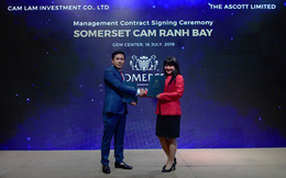 Chủ đầu tư dự án Cam Ranh Bay ký kết hợp tác với The Ascott Limited