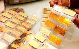 Giá vàng giảm, lùi xa mốc 37 triệu đồng/lượng