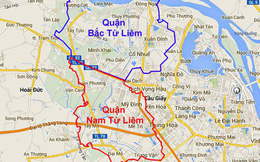 Hà Nội điều chỉnh địa giới: Nhiều tổ dân phố thuộc quận Bắc Từ Liêm sẽ về quận Cầu Giấy