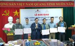 Bàn giao sổ hồng cho hơn 500 căn nhà ở xã hội Rice City Linh Đàm