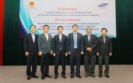 Samsung giúp đào tạo hơn 100 chuyên gia cho Việt Nam