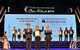 Agribank được vinh danh tại 2 hạng mục Giải thưởng Sao Khuê 2019