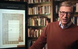 Nổi tiếng là tỷ phú sống giản dị nhưng 25 năm trước Bill Gates đã mạnh tay chi 30 triệu USD chỉ để mua một cuốn sách vì lý do đặc biệt này