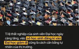 Hơn 270.000 học sinh lớp 12 không thi Đại học: Bằng ĐH hiện nay quá đắt đỏ và không đáng tiền bỏ ra?