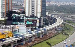 Sau khi tạm ứng vốn, dự án metro số 1 đạt hơn 70% tổng khối lượng thi công