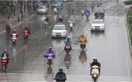 Hà Nội mưa dông diện rộng