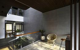 Ngôi nhà có thiết kế mở kết nối mọi thành viên