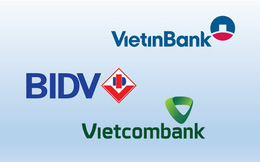Yếu tố tạo ra cách biệt lợi nhuận giữa Vietcombank và VietinBank, BIDV