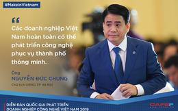 Chủ tịch UBND TP Hà Nội: Doanh nghiệp Việt hoàn toàn có thể phát triển công nghệ phục vụ thành phố thông minh
