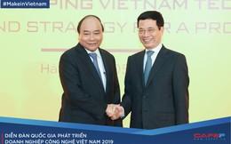 Lãnh đạo Chính phủ và nhiều doanh nghiệp lớn quy tụ tìm sáng kiến phát triển doanh nghiệp công nghệ Việt